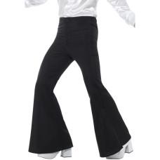 Pantaloni a zampa di elefante neri