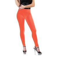 Leggings arancioni neon