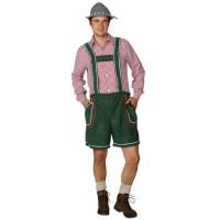 Pantaloni bavaresi corti verdi