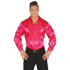 Camicia anni 60 e 70 pink