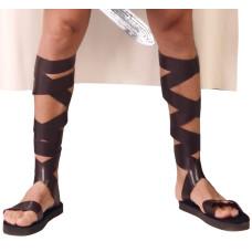 Paio di sandali con lacci
