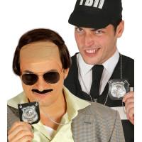 Distintivo da poliziotto su catena