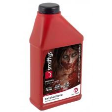 Bottiglia di sangue liquido