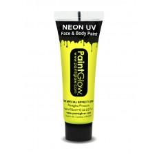 Trucco UV giallo neon