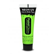 Trucco UV verde neon