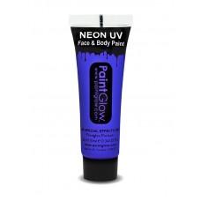 Trucco UV blu neon