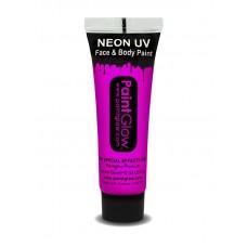 Trucco UV pink neon