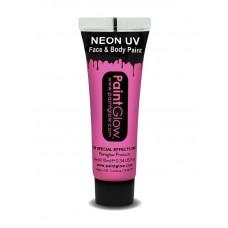 Trucco UV rosa neon