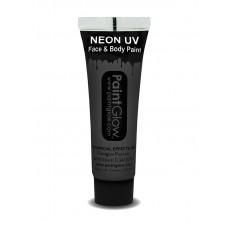Trucco UV nero neon