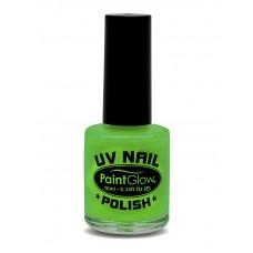 Smalto UV per unghie verde neon