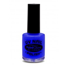 Smalto UV per unghie blu neon