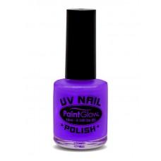 Smalto UV per unghie viola neon