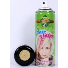 Spray per capelli oro glitter